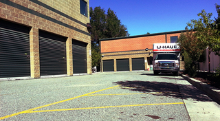 Moving boxes and supplies at our self storage facility in union park