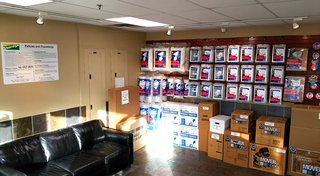 Various storage unit sizes at our facility in union park