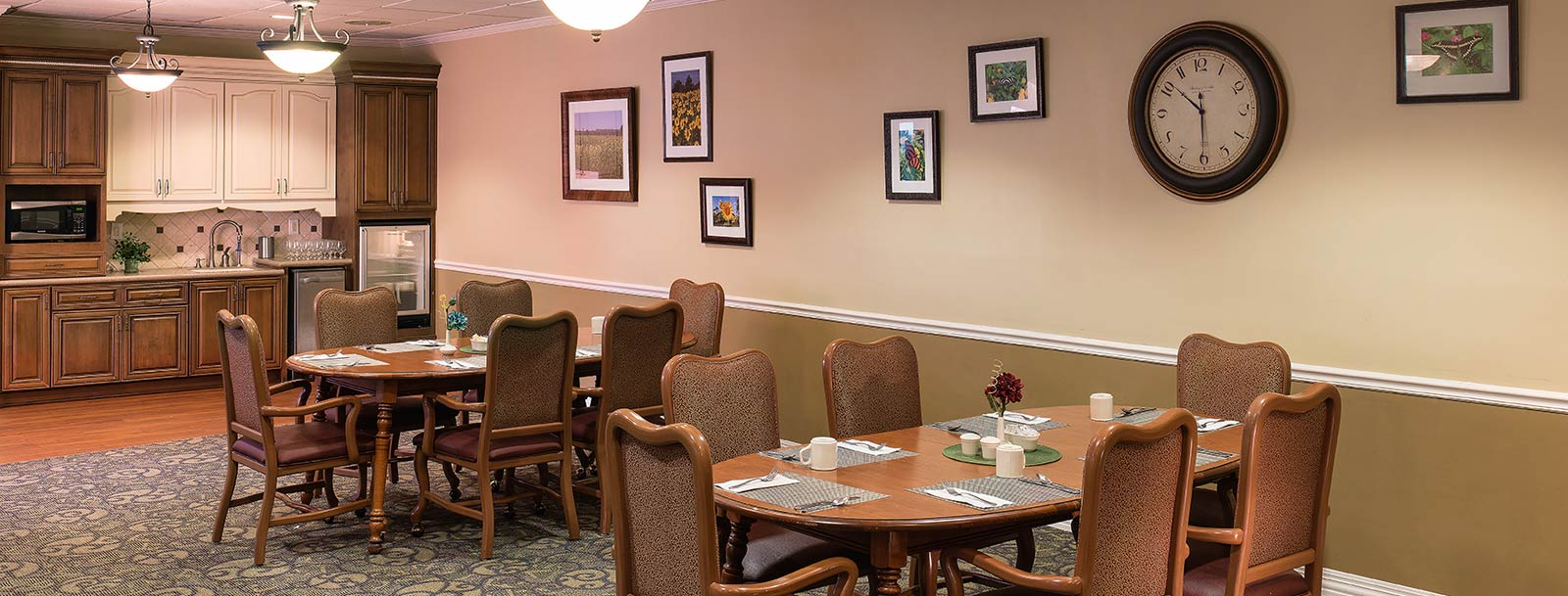 Professional chefs to prepare your meals at the senior living facility in Arkansas City