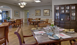 Dining hall fulton assisted living