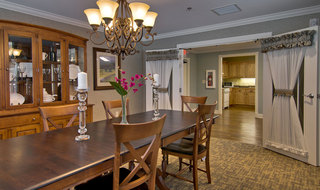 Family dining room fulton assisted living