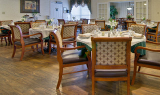 Dining hall milan assisted living