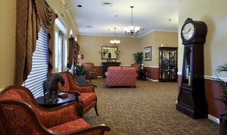 Clarksville assisted living reading room