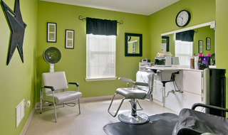 Hair salon milan assisted living