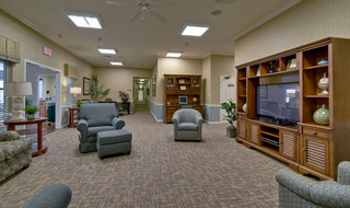 Fulton assisted living tv lounge