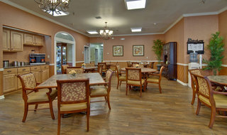 Dining hall nixa assisted living