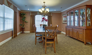 Large dinning room nixa assisted living