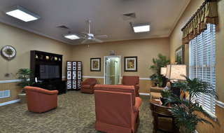 Tv lounge clarksville assisted living