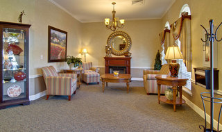 Saint peters assisted living fire side lounge