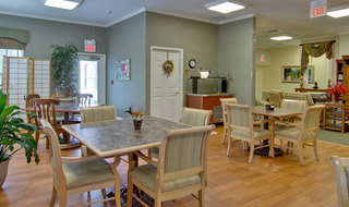 Saint peters assisted living kitchen and dining