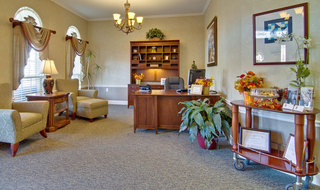 Saint peters assisted living reception
