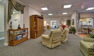 Saint peters assisted living tv lounge