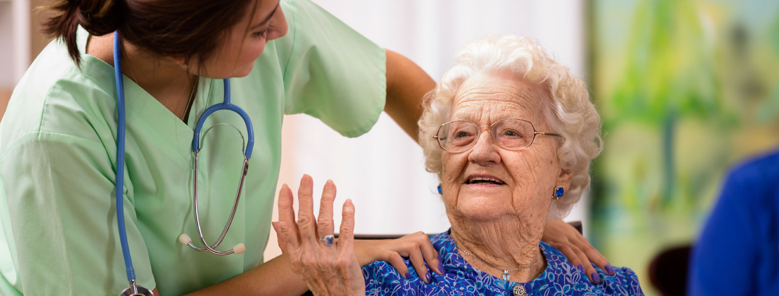 Respite care services at the senior living facility in Farmington