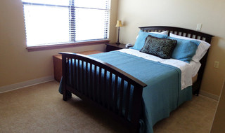 Independent living have bright bedrooms in Arkansas City senior living