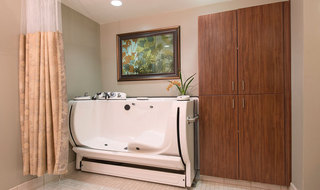 Skilled nursing spa in Topeka senior living