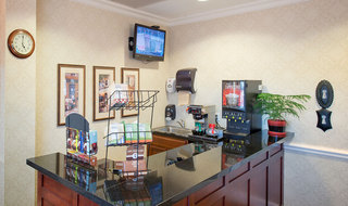 Capuccino bar in Olathe senior living community