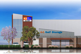A1 self storage senter rd rendering