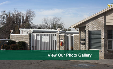 View photos of our self storage in Clearfield