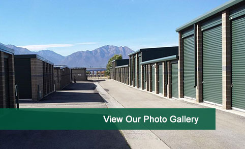 View photos of our self storage in West Jordan