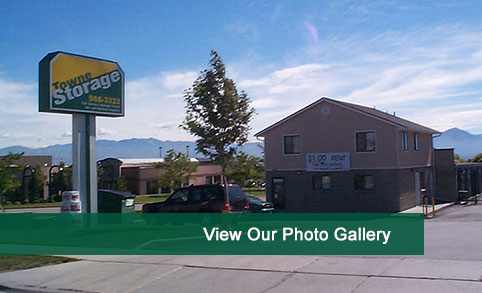 View photos of our self storage in West Valley