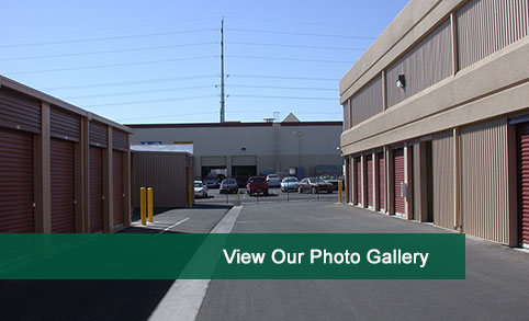 View photos of our self storage in Las Vegas