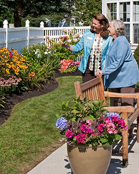 Scarborough, ME senior living care is highly regarded in the community.
