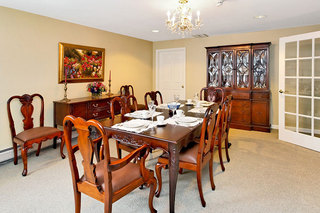 Dining room assisted living maine
