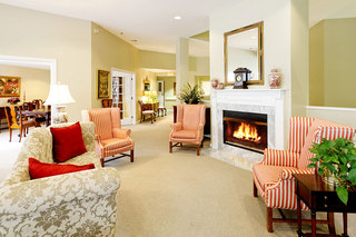 Fireplace senior living scarborough maine