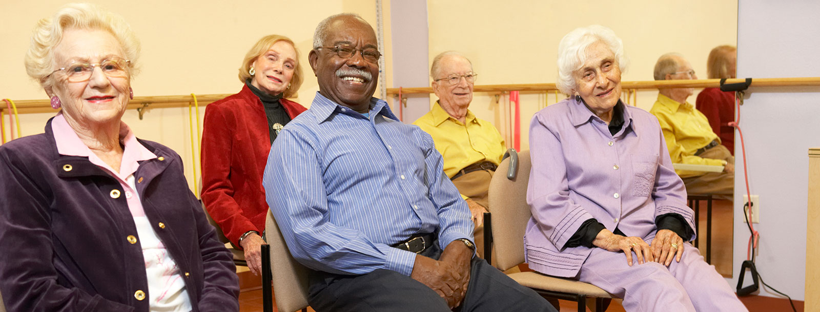 Senior living in Sterling cares about your health and wellness