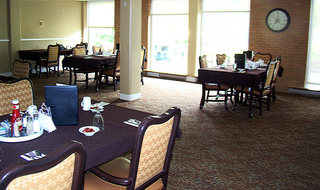Dining room at the senior living in Clay Center