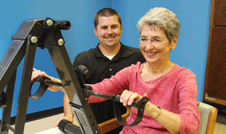 Rehab services at the senior living in Sterling