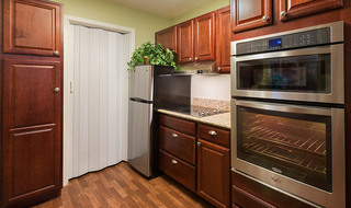 Luxury kitchen at the senior living in Fort Scott
