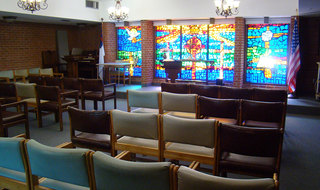Parsons senior living has a wonderful chapel