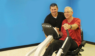 Senior living in Parsons has modern rehab equipment