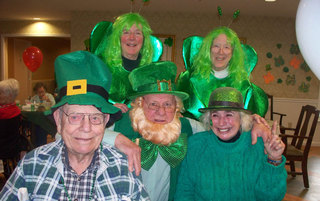 The Gang St. Patty's 2015