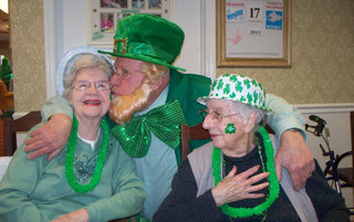 Anne, Lucky, & Marian St. Patty's 2015