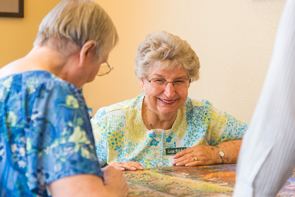Some happy tenants of our Meridian, ID senior living facility