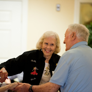 Some happy tenants of our Edmond, OK senior living facility