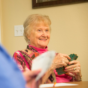 Some happy tenants of our Appleton, WI senior living facility