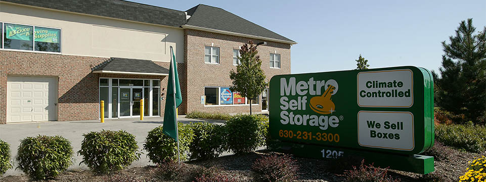 Metro storage in west chicago