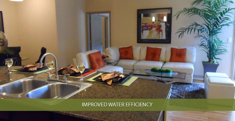 Improved water efficiency