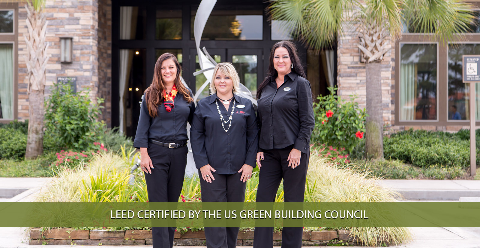 Leed certfied by the us green building council