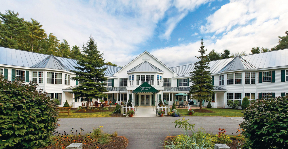 Entrance to assisted living scarborough maine new