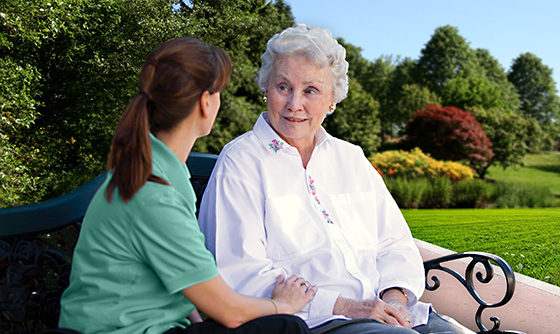 At our memory care facility in Scarborough, ME we offer the highest quality of service.