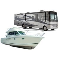 Boat rv Sun Harbor Self Storage
