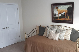 Guest bedroom at our dracut luxury apartments