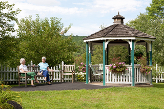 Hanover nh assisted living gazebo