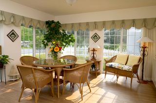 Sunroom at new hampshire assisted living
