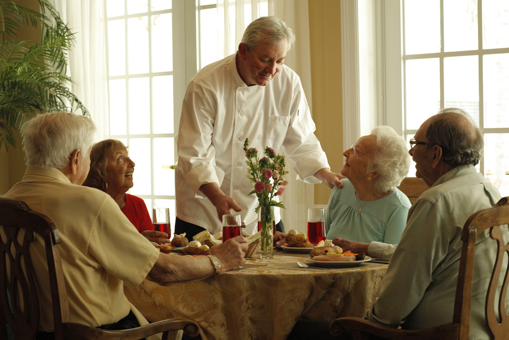 Dining senior living vermont wilder