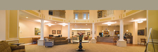 Touchmark retirement community interior lobby